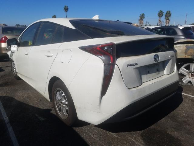 купить 2016 Toyota Prius 1.8L JTDKBRFU9G3020404