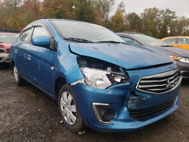 Salvage cars for sale at Waldorf, MD auction: 2018 Mitsubishi Mirage G4
