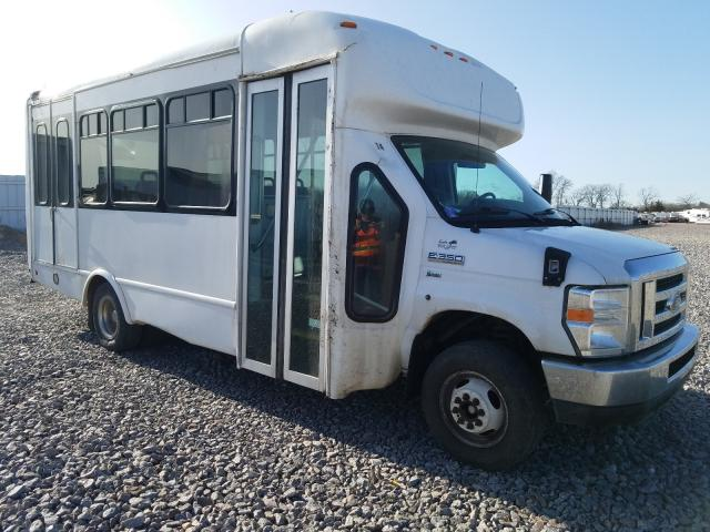 Salvage cars for sale from Copart Avon, MN: 2014 Ford E350 Bus