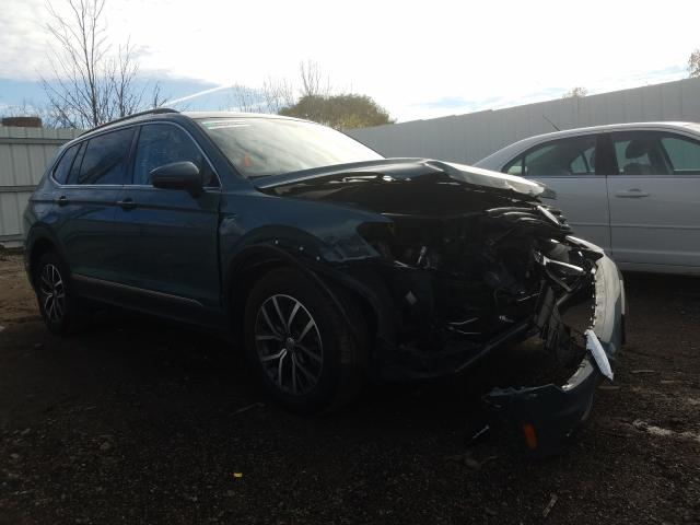 Salvage cars for sale from Copart Columbia Station, OH: 2020 Volkswagen Tiguan SE