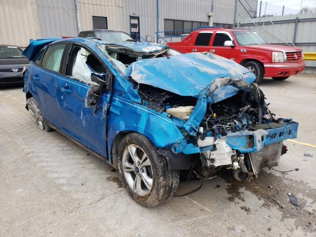 Salvage cars for sale from Copart Lawrenceburg, KY: 2014 Ford Focus SE