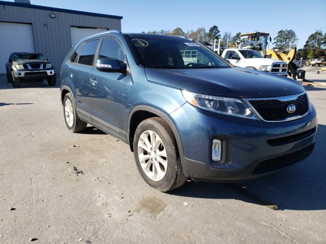Salvage cars for sale from Copart Dunn, NC: 2014 KIA Sorento EX