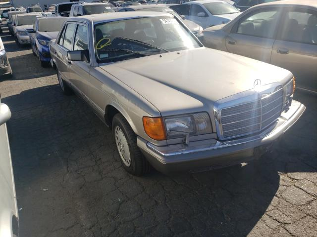 Mercedes-Benz 420 SEL salvage cars for sale: 1987 Mercedes-Benz 420 SEL