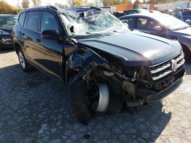 Salvage cars for sale from Copart Bridgeton, MO: 2018 Volkswagen Atlas SE
