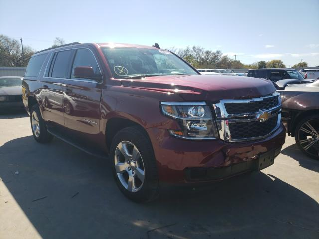 Salvage cars for sale from Copart Wilmer, TX: 2020 Chevrolet Suburban C