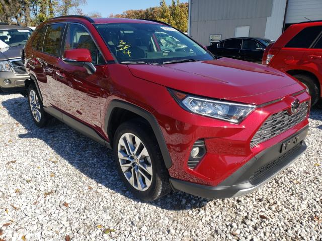Salvage cars for sale from Copart Rogersville, MO: 2019 Toyota Rav4 Limited