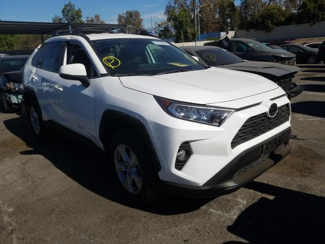Salvage cars for sale from Copart Colton, CA: 2020 Toyota Rav4 XLE
