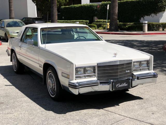 Salvage cars for sale from Copart Rancho Cucamonga, CA: 1983 Cadillac Eldorado
