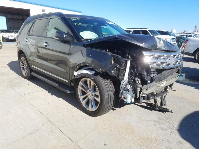 Salvage cars for sale from Copart New Orleans, LA: 2019 Ford Explorer L
