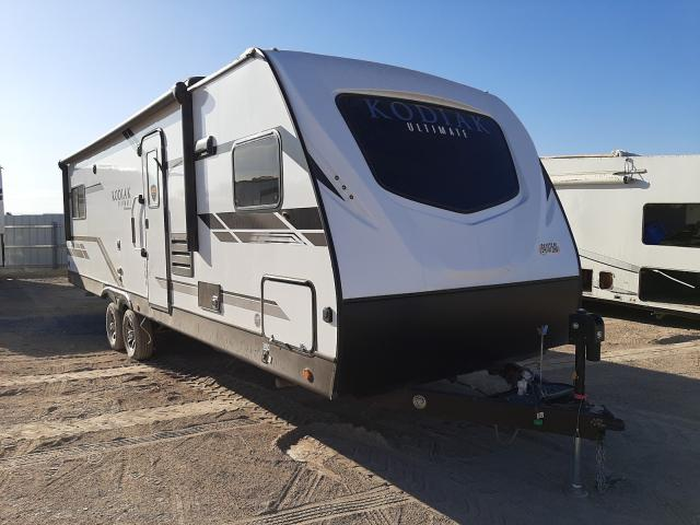 Keystone Travel Trailer salvage cars for sale: 2020 Keystone Travel Trailer