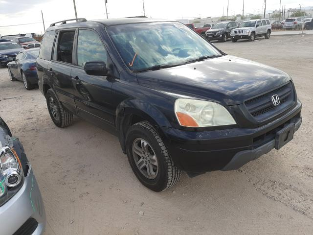 Salvage cars for sale from Copart Las Vegas, NV: 2003 Honda Pilot