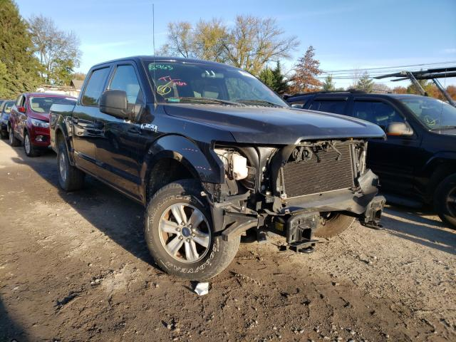 Salvage cars for sale from Copart Finksburg, MD: 2015 Ford F150 Super