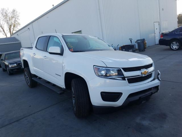 Chevrolet salvage cars for sale: 2019 Chevrolet Colorado