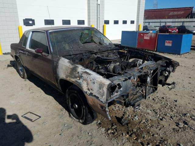 Oldsmobile salvage cars for sale: 1986 Oldsmobile Cutlass SU