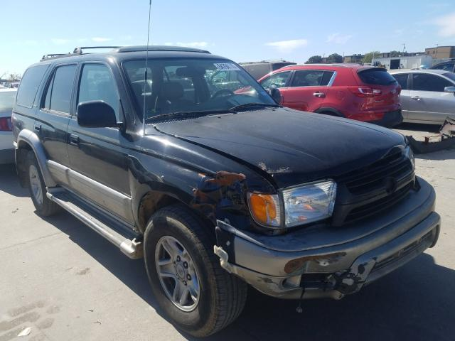 Toyota 4runner LI salvage cars for sale: 2001 Toyota 4runner LI