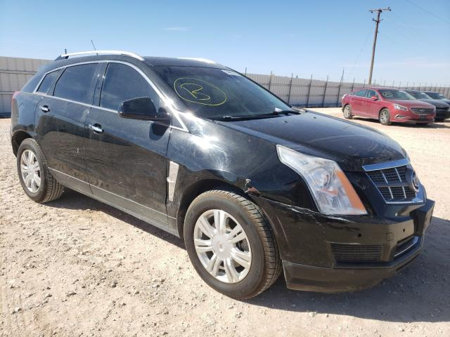 Salvage cars for sale from Copart Andrews, TX: 2011 Cadillac SRX Luxury