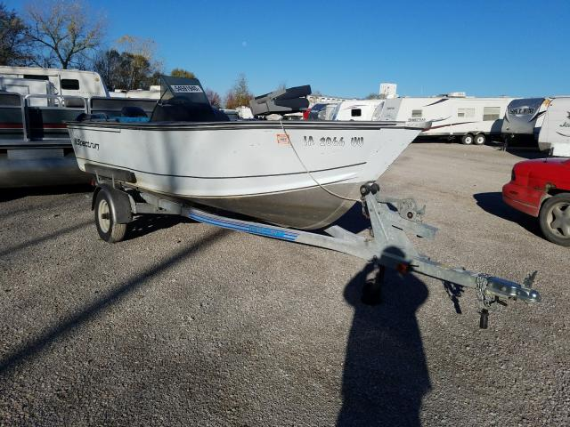 1989 Fishmaster Boat With Trailer for sale in Des Moines, IA