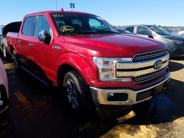 Salvage cars for sale at Theodore, AL auction: 2018 Ford F150 Super