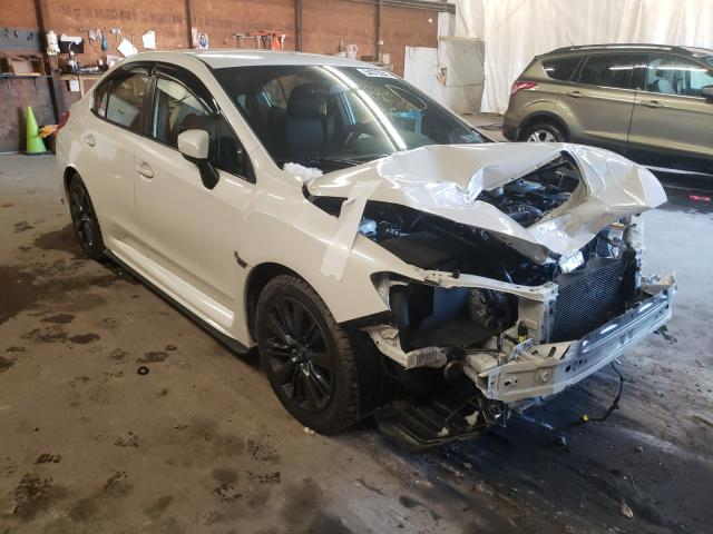 Salvage cars for sale from Copart Ebensburg, PA: 2018 Subaru WRX