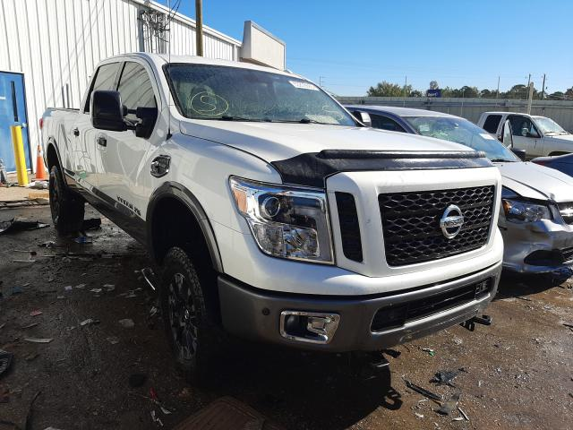 Salvage cars for sale from Copart Montgomery, AL: 2016 Nissan Titan XD S