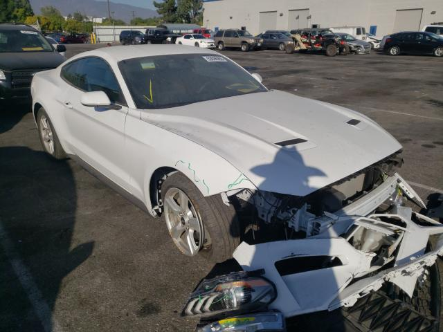 Salvage cars for sale from Copart Rancho Cucamonga, CA: 2020 Ford Mustang