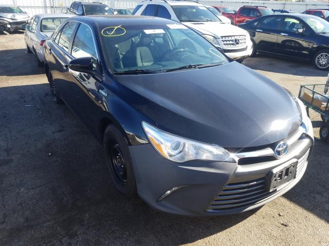 Salvage cars for sale from Copart Moraine, OH: 2015 Toyota Camry Hybrid