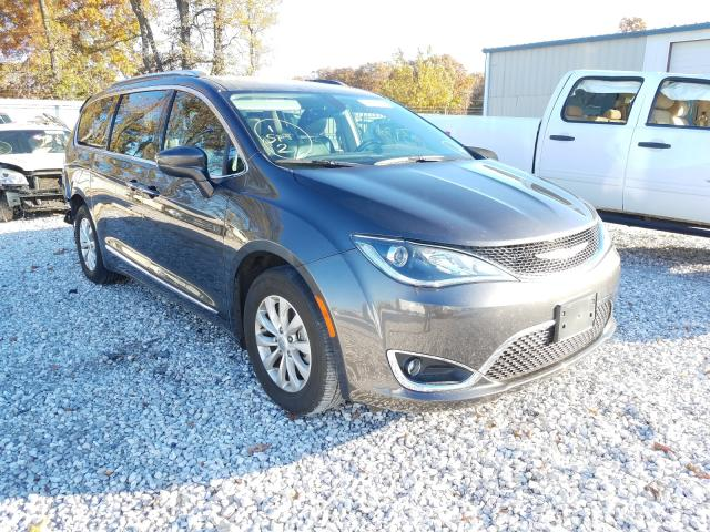 Salvage cars for sale from Copart Rogersville, MO: 2019 Chrysler Pacifica T