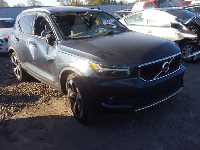 Volvo XC40 T5 MO salvage cars for sale: 2021 Volvo XC40 T5 MO