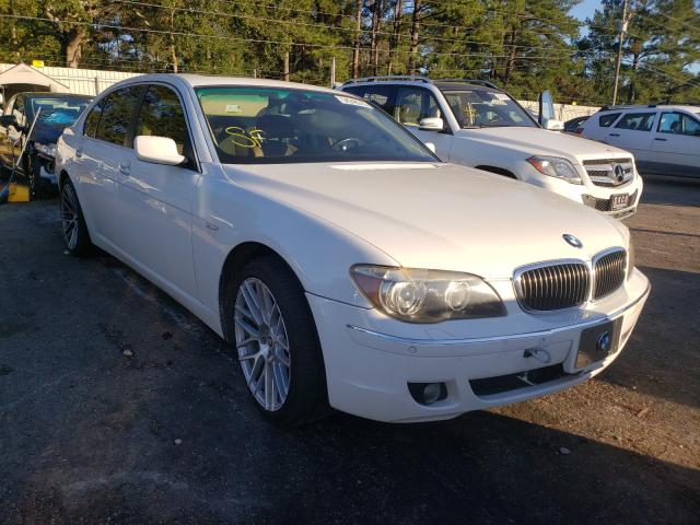 BMW 750 LI salvage cars for sale: 2006 BMW 750 LI