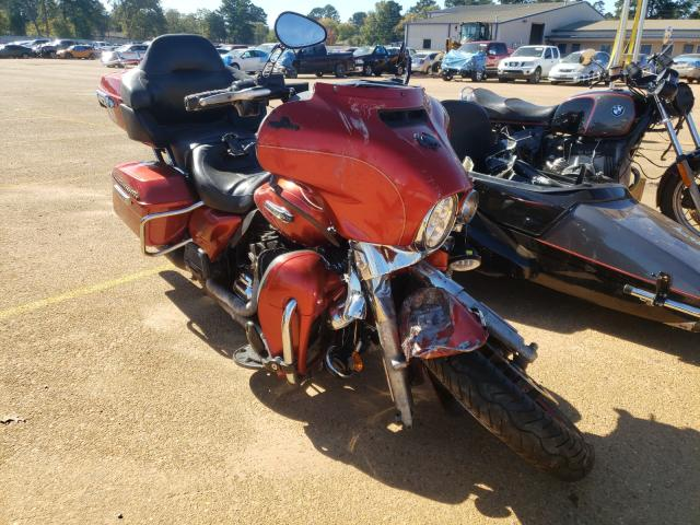 Salvage cars for sale from Copart Longview, TX: 2014 Harley-Davidson Flhtcu ULT