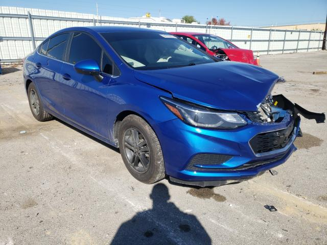 Vehiculos salvage en venta de Copart Lexington, KY: 2016 Chevrolet Cruze LT