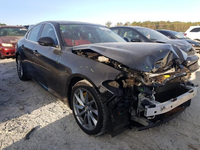 Alfa Romeo Giulia salvage cars for sale: 2017 Alfa Romeo Giulia