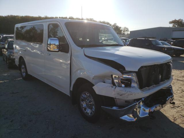 Salvage cars for sale from Copart Hampton, VA: 2017 Nissan NV 3500 S