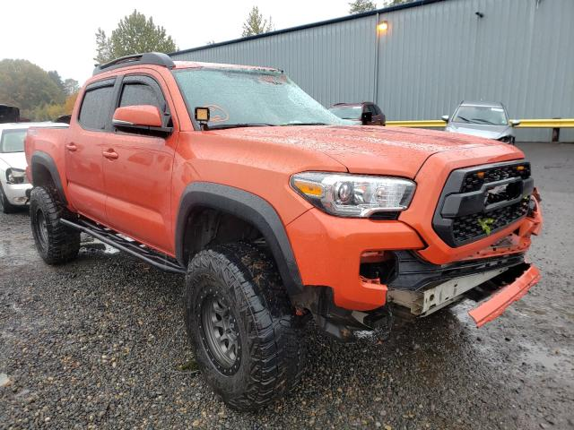 Salvage cars for sale from Copart Portland, OR: 2016 Toyota Tacoma DOU