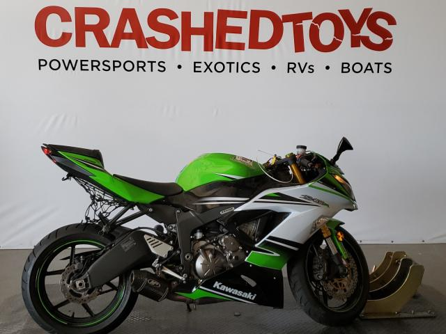Salvage cars for sale from Copart San Diego, CA: 2015 Kawasaki ZX636 F