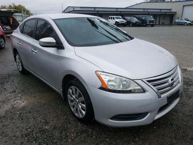 Salvage cars for sale from Copart Arlington, WA: 2013 Nissan Sentra S