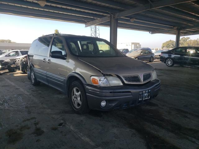 Pontiac Montana salvage cars for sale: 2001 Pontiac Montana