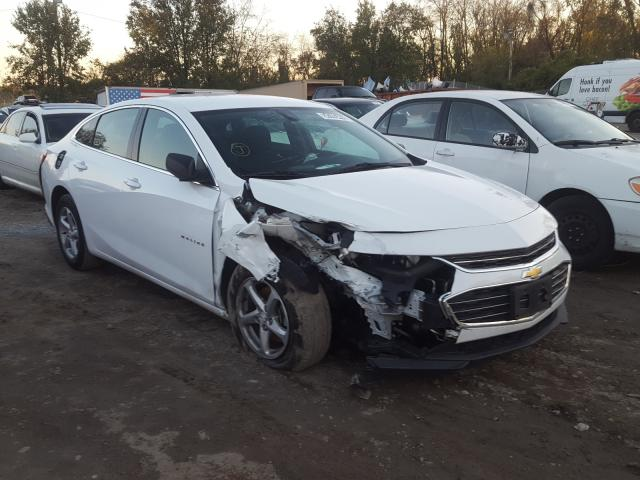 Salvage cars for sale from Copart Baltimore, MD: 2018 Chevrolet Malibu LS