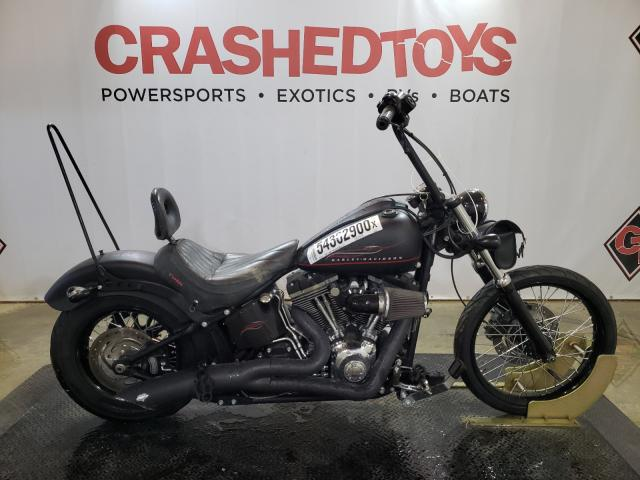 Salvage cars for sale from Copart Columbia, MO: 2012 Harley-Davidson FXS Blackl