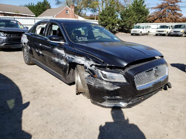 Salvage cars for sale from Copart Finksburg, MD: 2020 Lincoln Continental