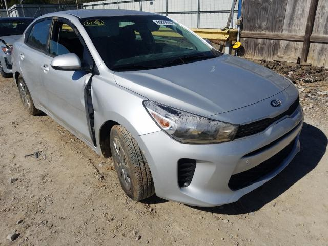 KIA salvage cars for sale: 2020 KIA Rio LX