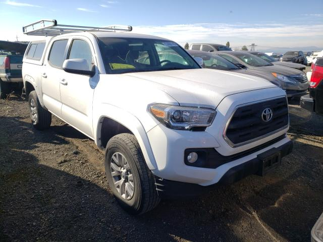 Salvage cars for sale from Copart Eugene, OR: 2017 Toyota Tacoma DOU