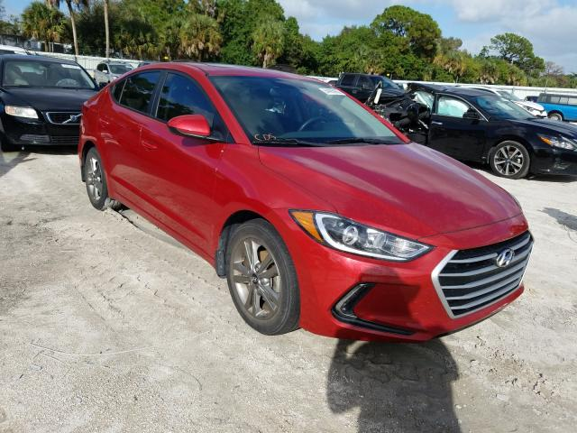 Salvage cars for sale from Copart Fort Pierce, FL: 2018 Hyundai Elantra SE