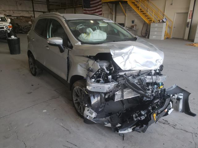 Salvage cars for sale from Copart Reno, NV: 2020 Ford Ecosport T