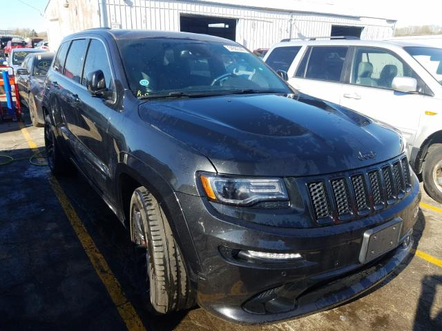 Salvage cars for sale from Copart Chicago Heights, IL: 2015 Jeep Grand Cherokee