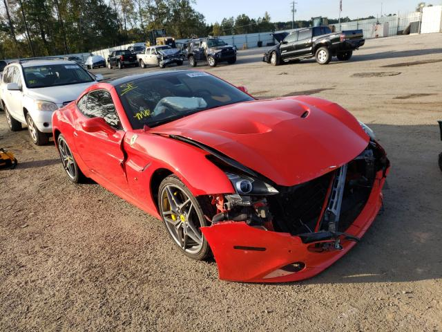 Ferrari California salvage cars for sale: 2016 Ferrari California