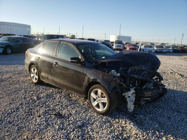 Salvage cars for sale from Copart Tulsa, OK: 2012 Volkswagen Jetta TDI
