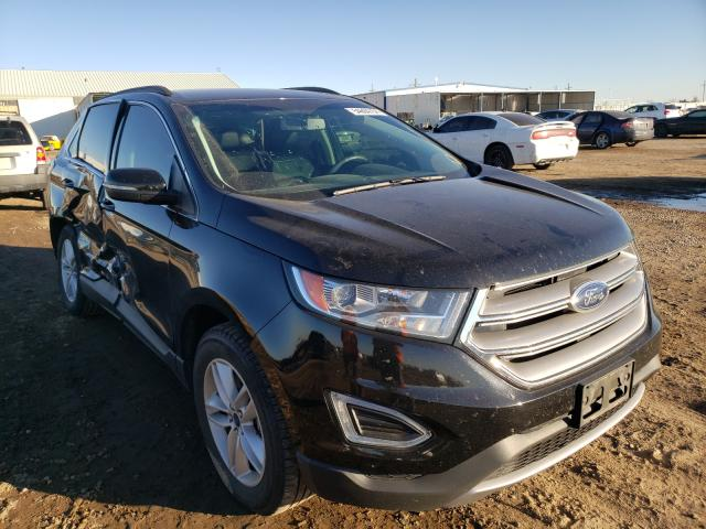 Ford salvage cars for sale: 2016 Ford Edge SEL
