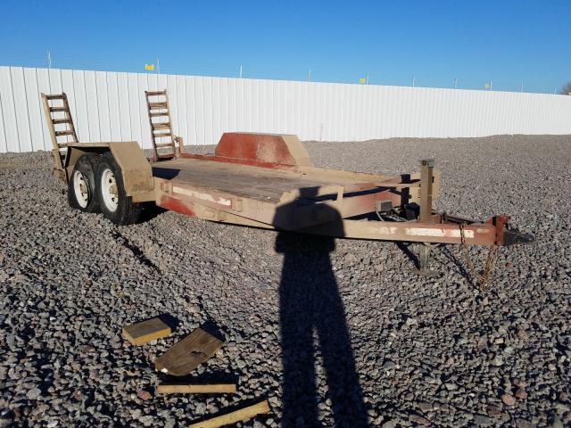 Homemade Trailer salvage cars for sale: 2003 Homemade Trailer