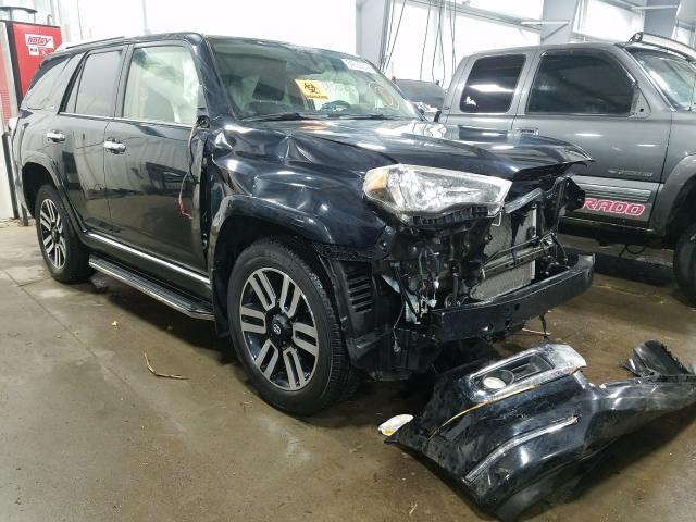 Vehiculos salvage en venta de Copart Ham Lake, MN: 2016 Toyota 4runner SR